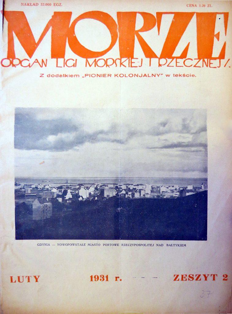 Morze: organ Ligi Morskiej i Rzecznej. - 1931, nr 2