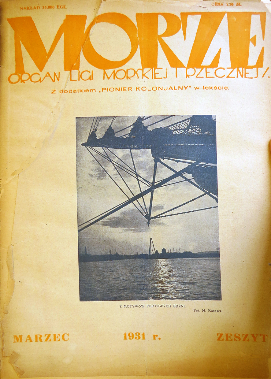 Morze:organ Ligi Morskiej i Rzecznej. - 1931, nr 3