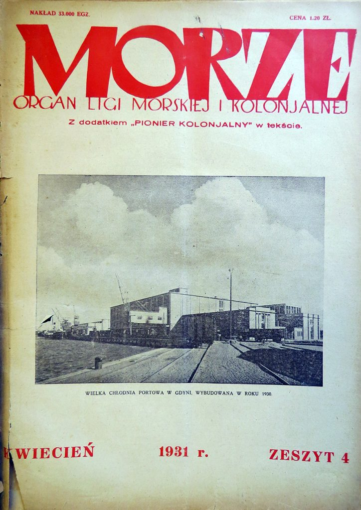Morze: organ Ligi Morskiej i Rzecznej. - 1931, nr 4