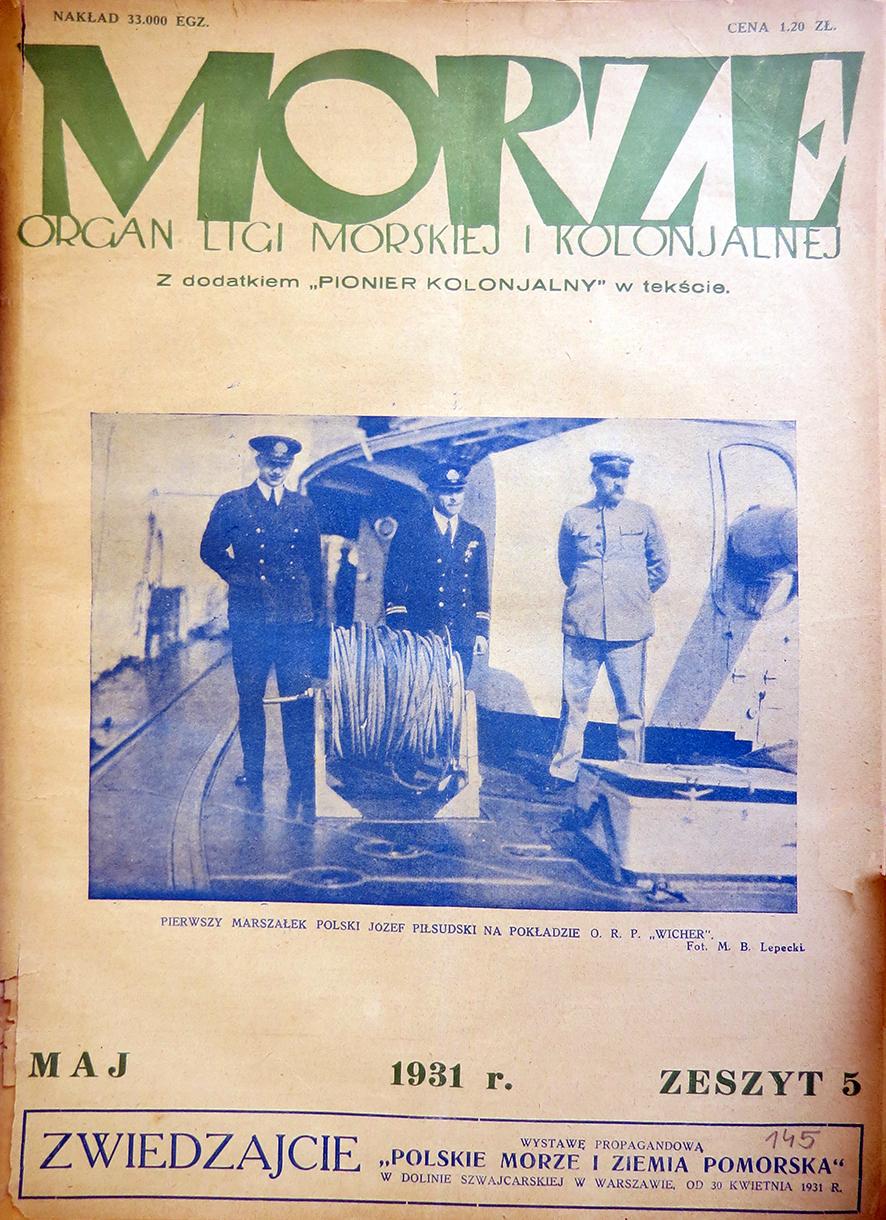 Morze: organ Ligi Morskiej i Rzecznej. - 1931, nr 5