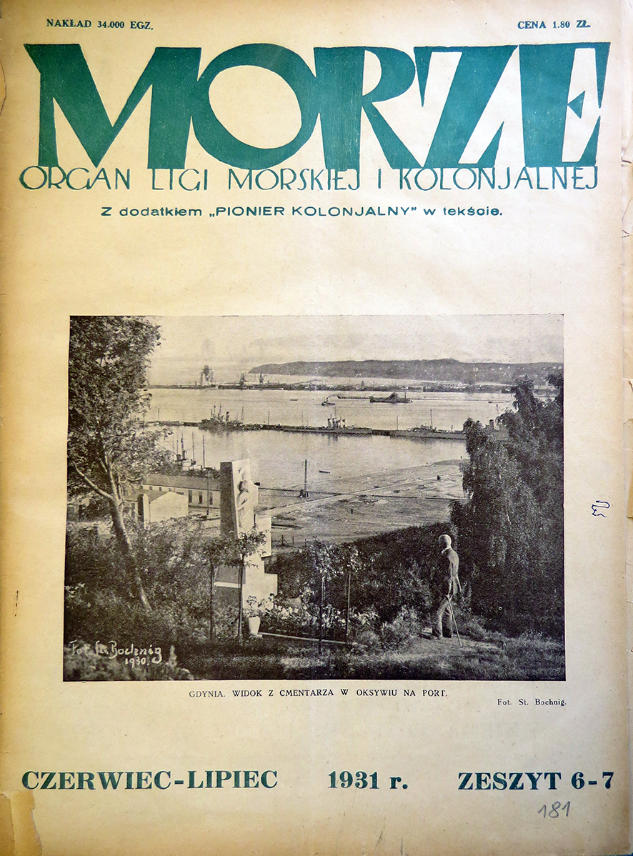 Morze: organ Ligi Morskiej i Rzecznej. - 1931, nr 6/7