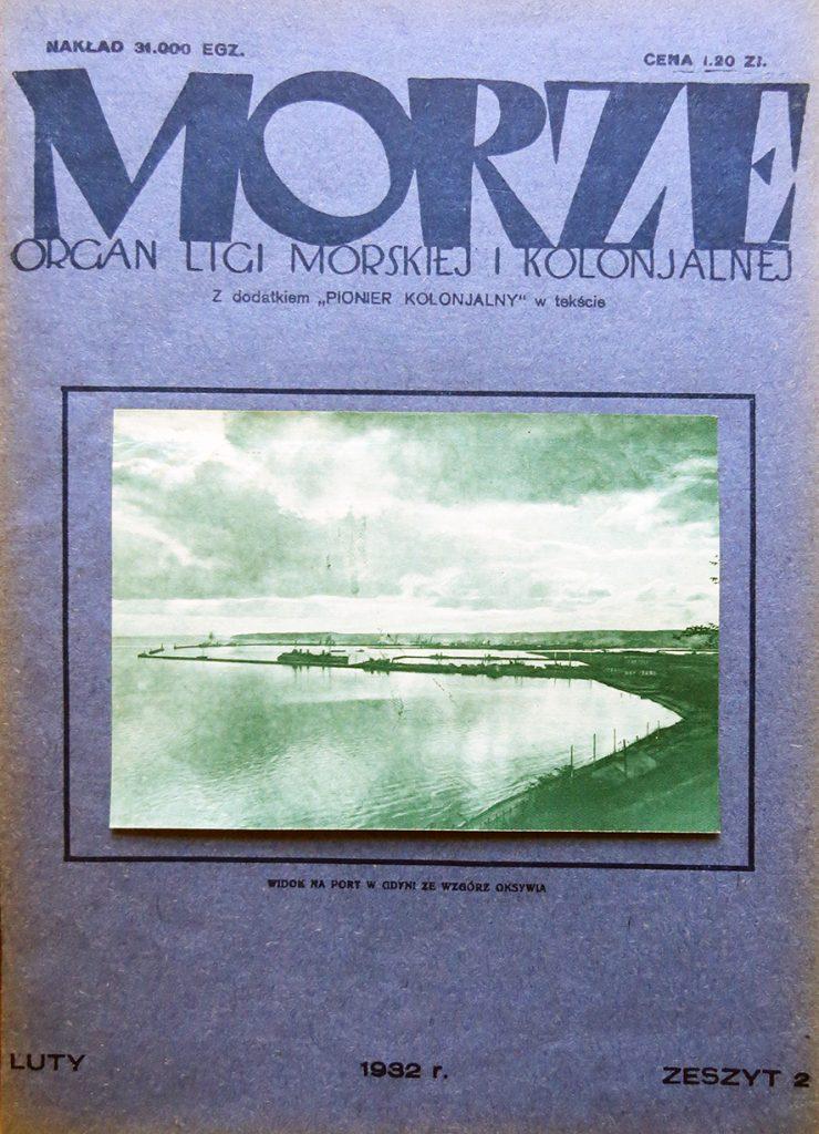 Morze: organ Ligi Morskiej i Rzecznej. - 1932, nr 2