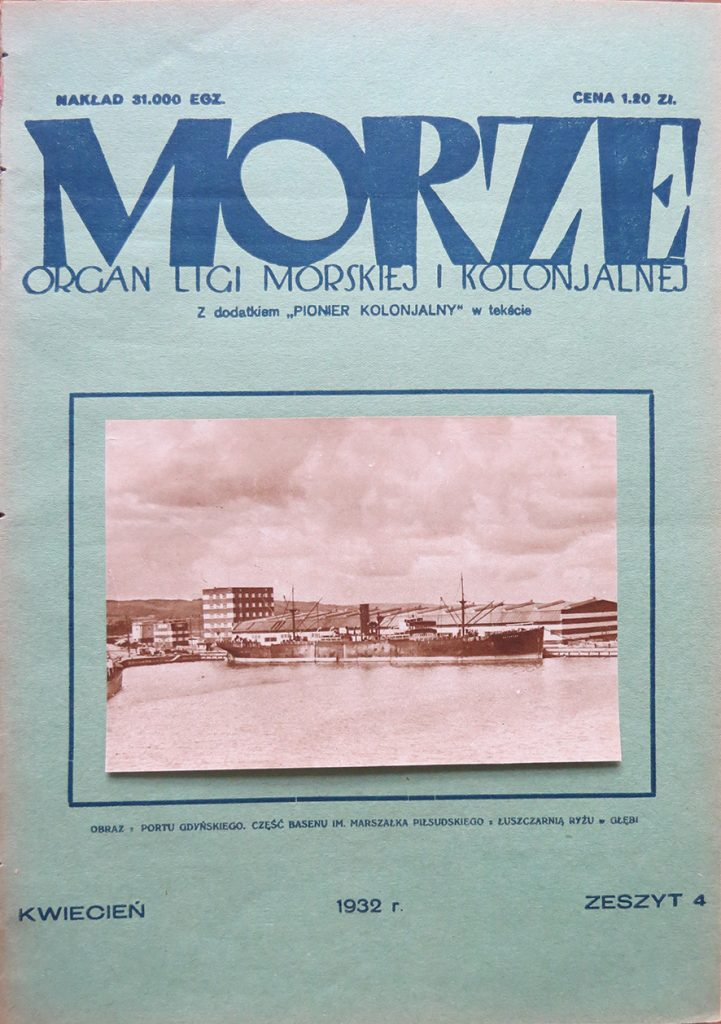 Morze: organ Ligi Morskiej i Rzecznej. - 1932, nr 4