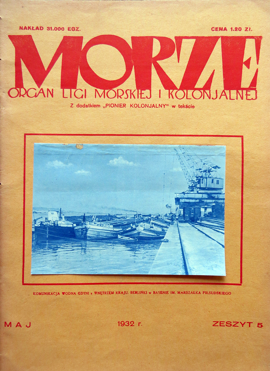 Morze: organ Ligi Morskiej i Rzecznej. - 1932, nr 5