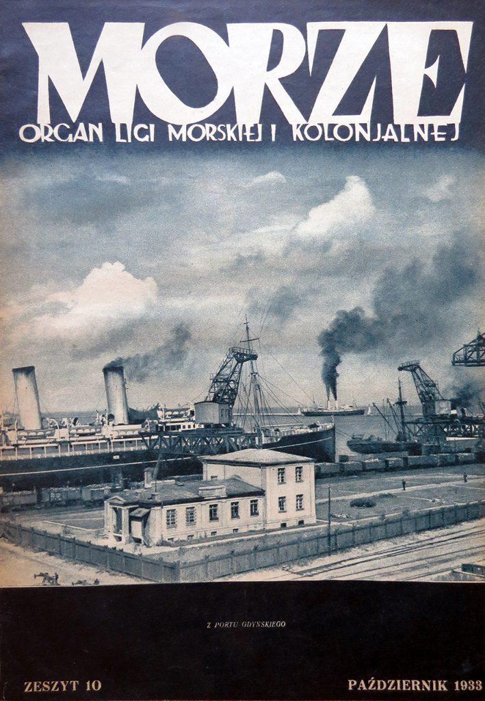 Morze: organ Ligi Morskiej i Rzecznej. - 1933, nr 10