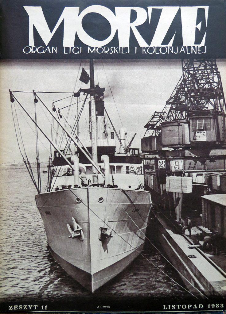 Morze: organ Ligi Morskiej i Rzecznej. - 1933, nr 11