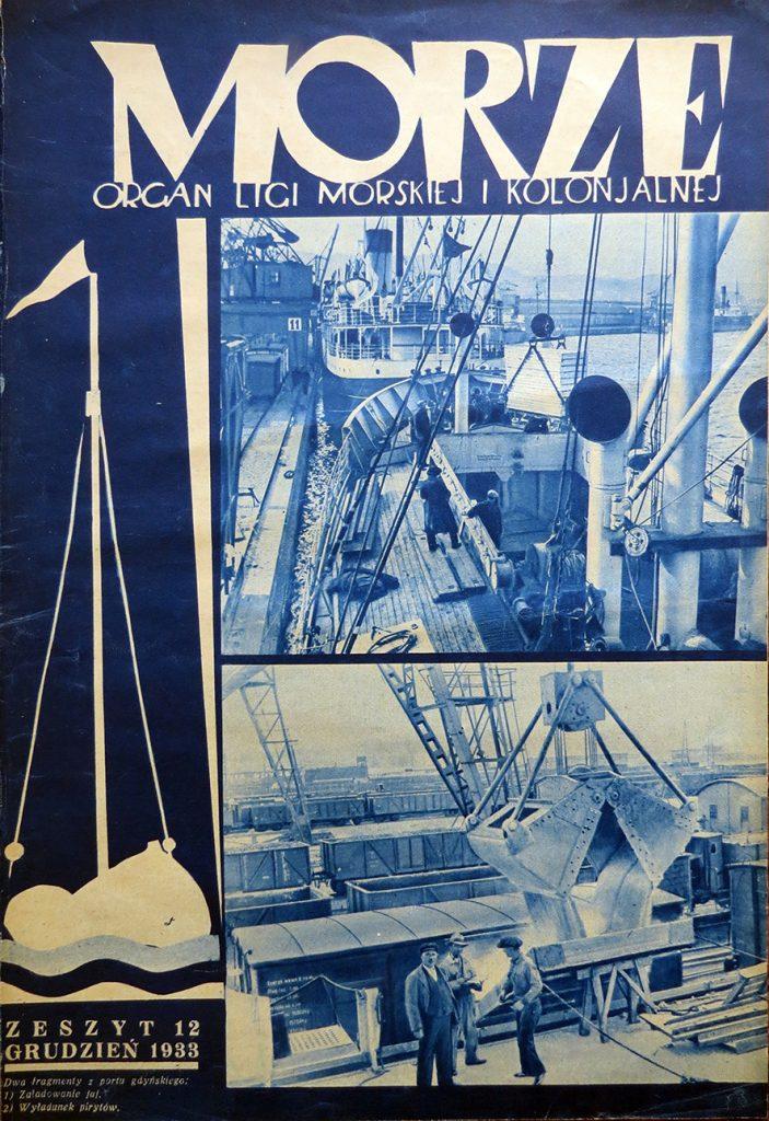Morze: organ Ligi Morskiej i Rzecznej. - 1933, nr 12