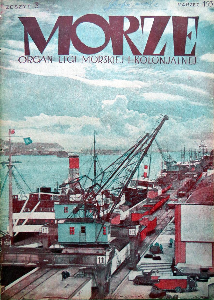 Morze: organ Ligi Morskiej i Rzecznej. - 1933, nr 3