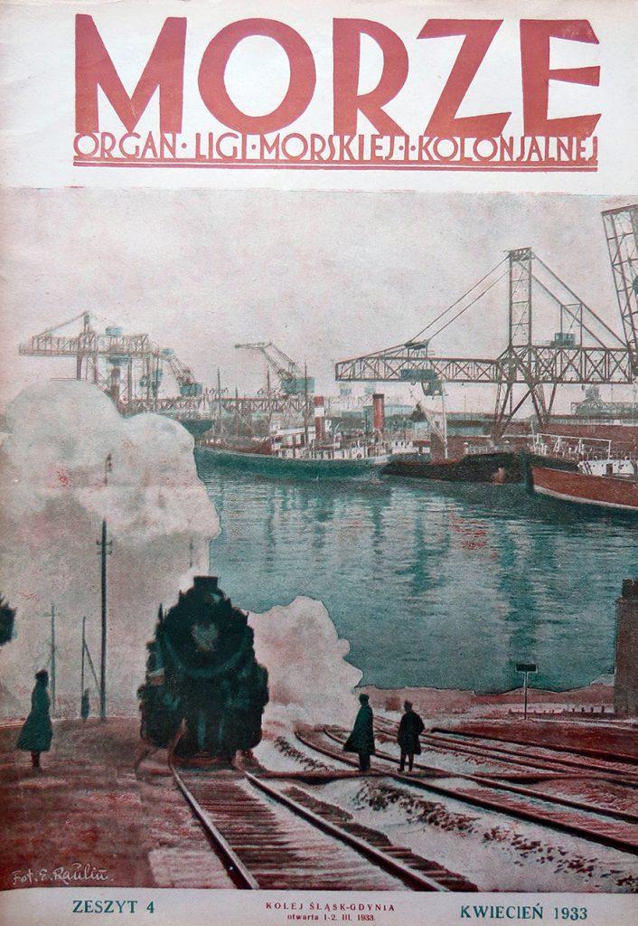 Morze: organ Ligi Morskiej i Rzecznej. - 1933, nr 4