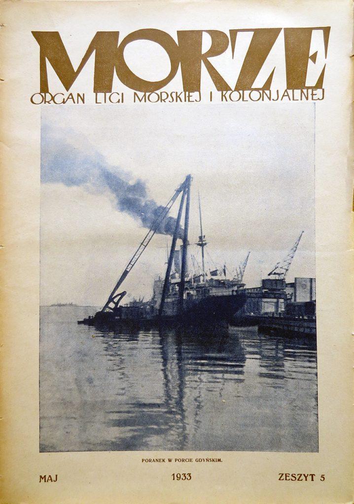 Morze: organ Ligi Morskiej i Rzecznej. - 1933, nr 5