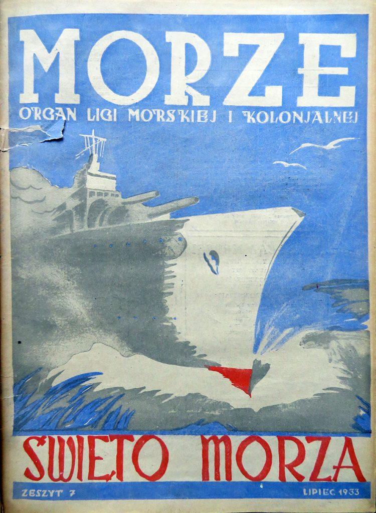 Morze: organ Ligi Morskiej i Rzecznej. - 1933, nr 7