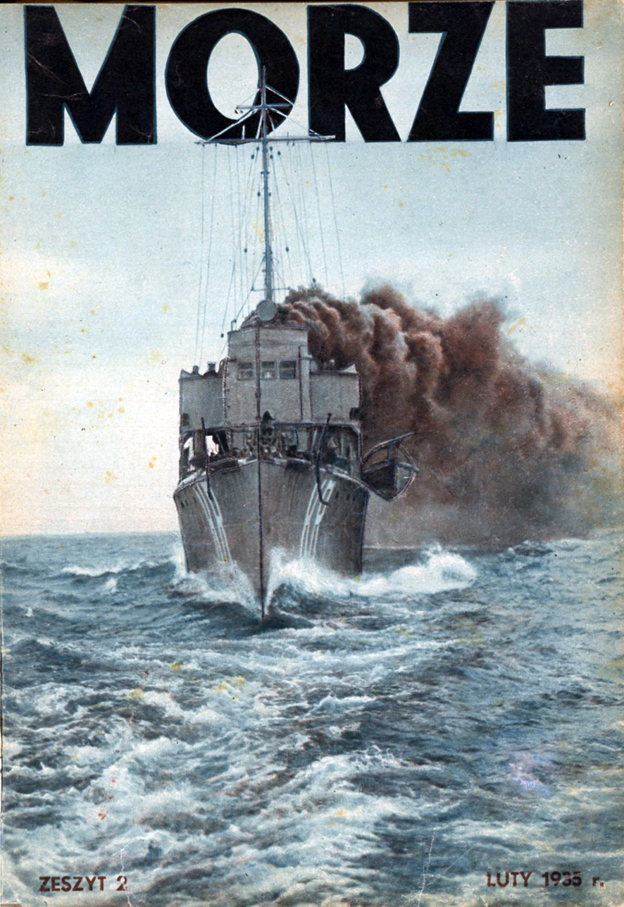 Morze: organ Ligi Morskiej i Rzecznej. - 1935, nr 2