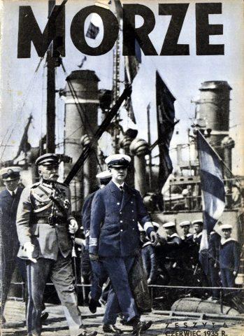 Morze: organ Ligi Morskiej i Rzecznej. - 1935, nr 5