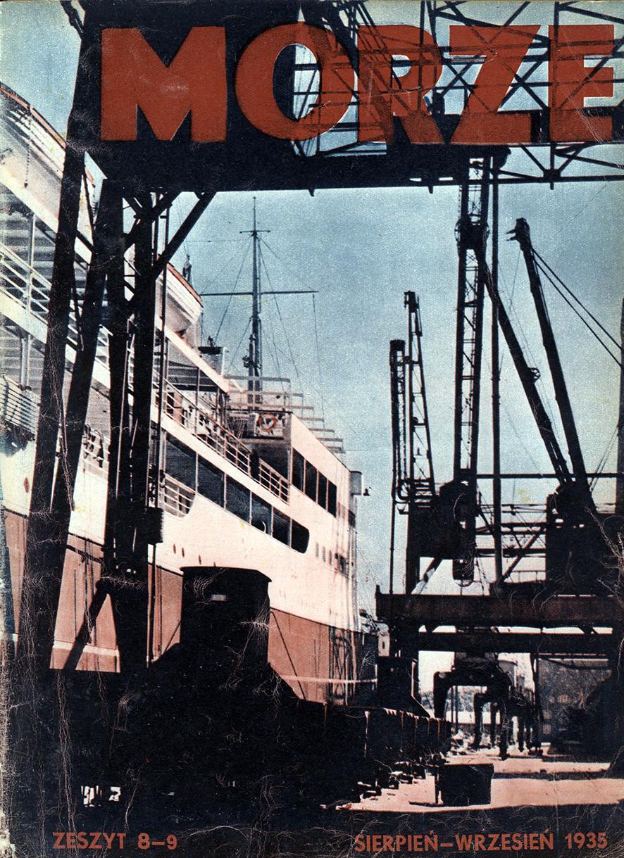 Morze: organ Ligi Morskiej i Rzecznej. - 1935, nr 8/9