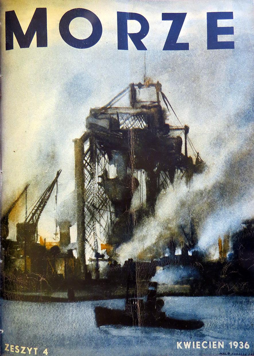 Morze: organ Ligi Morskiej i Rzecznej. - 1936, nr 4