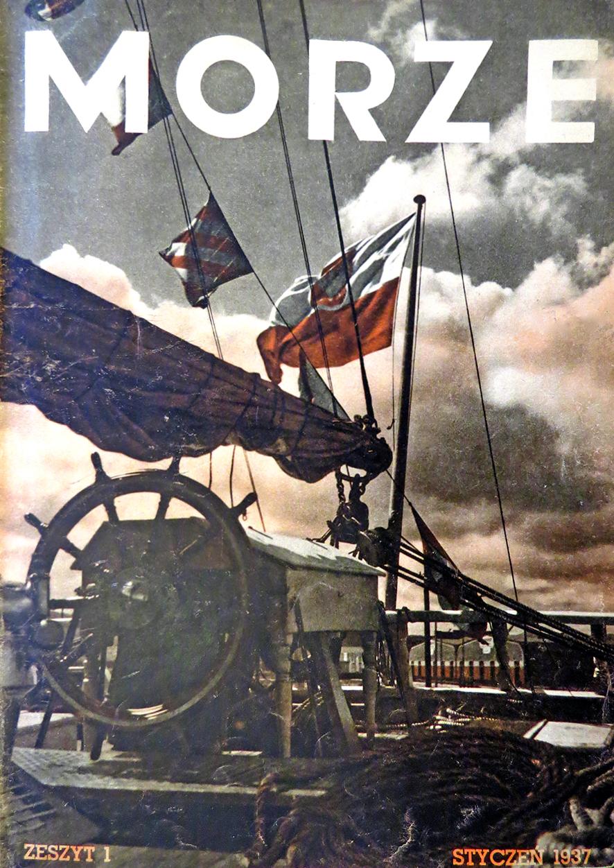 Morze: organ Ligi Morskiej i Rzecznej. - 1937, nr 1