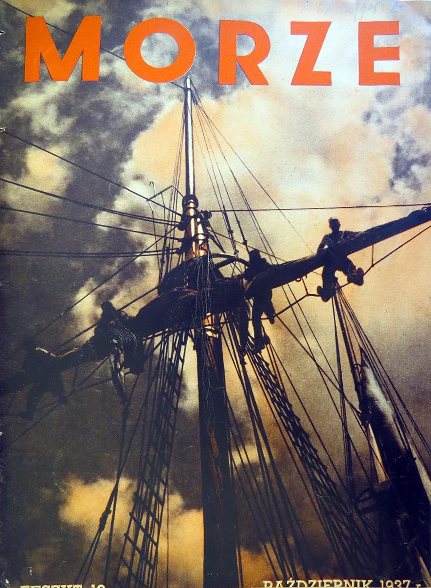 Morze: organ Ligi Morskiej i Rzecznej. - 1937, nr 10