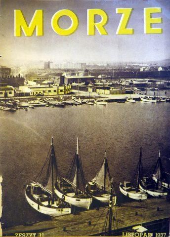 Morze: organ Ligi Morskiej i Rzecznej. - 1937, nr 11