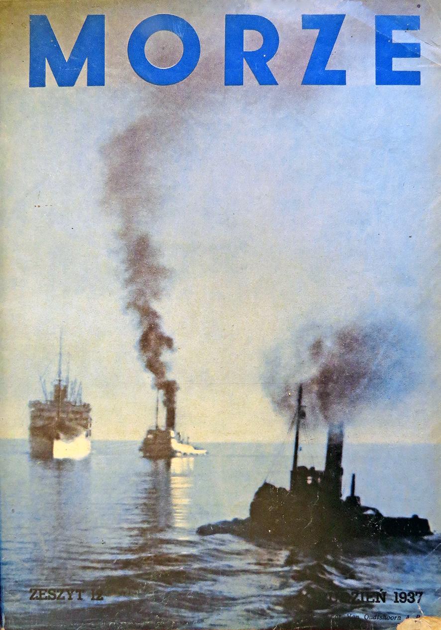 Morze: organ Ligi Morskiej i Rzecznej. - 1937, nr 12