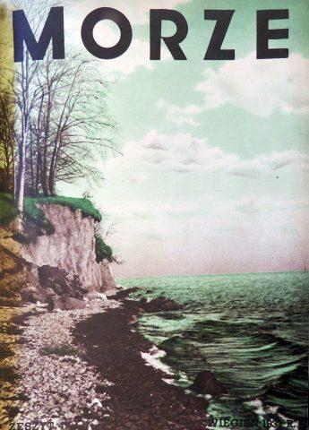 Morze: organ Ligi Morskiej i Rzecznej. - 1937, nr 4