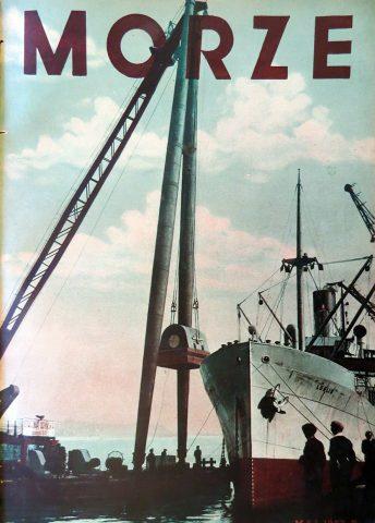 Morze: organ Ligi Morskiej i Rzecznej. - 1937, nr 5