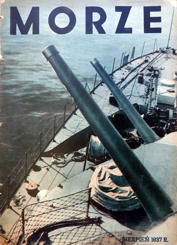 Morze: organ Ligi Morskiej i Rzecznej. - 1937, nr 7