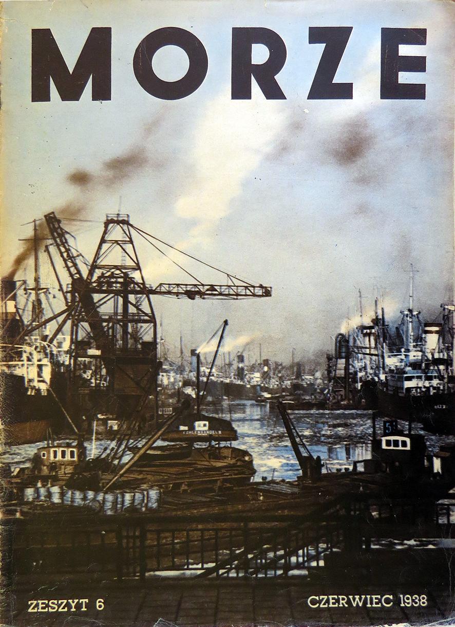 Morze: organ Ligi Morskiej i Rzecznej. - 1938, z. 6