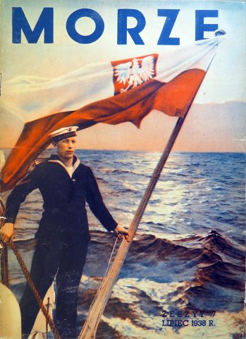 Morze: organ Ligi Morskiej i Rzecznej. - 1938, z. 7