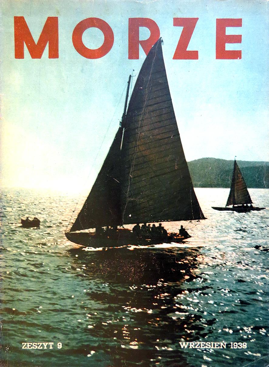 Morze: organ Ligi Morskiej i Rzecznej. - 1938, z. 9