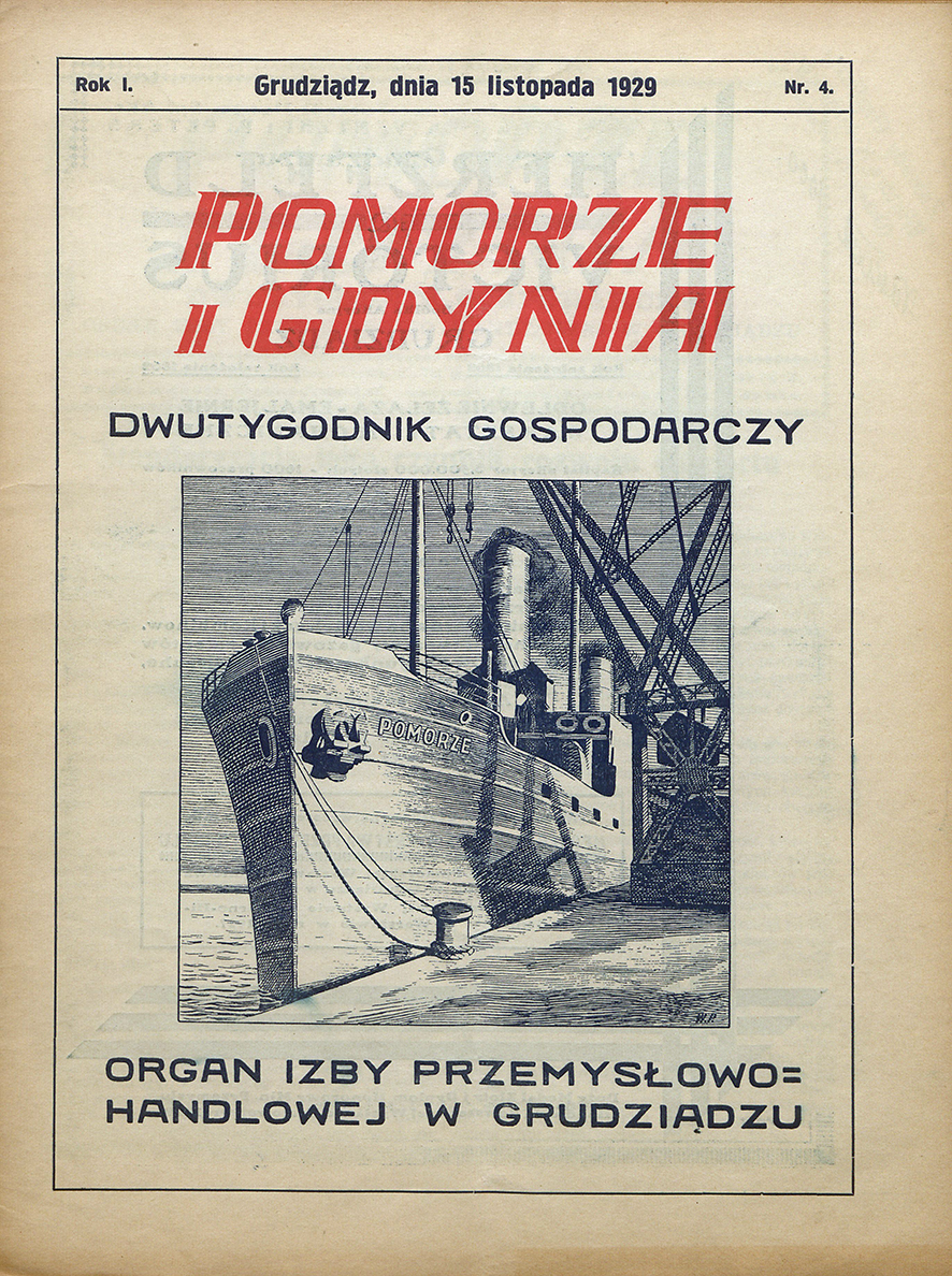 Pomorze i Gdynia : dwutygodnik gospodarczy : organ Izby Przemysłowo-Handlowej w Grudziądzu / Izba Przemysłowo-Handlowa w Grudziądzu. - 1929, nr 4
