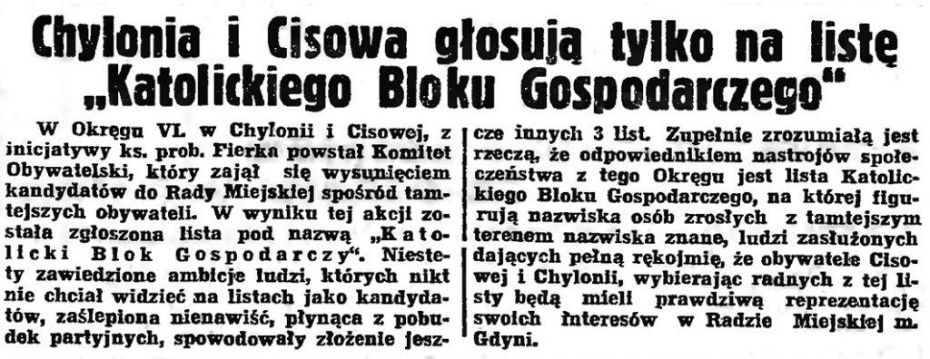 Chylonia i Cisowa głosują...
