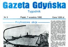 GAZETA GDYŃSKA 1990, NR 3