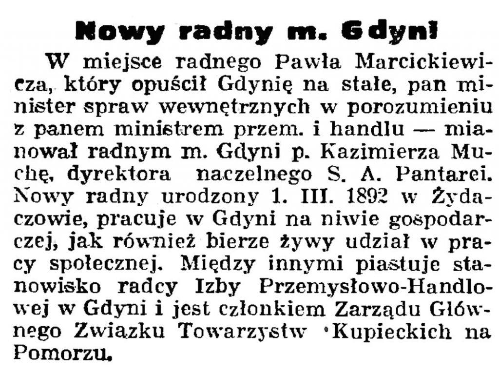 Nowy radny m. Gdyni