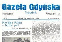 Gazeta Gdyńska 1990, nr 6