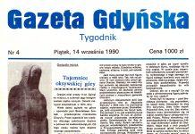 Gazeta Gdyńska 1990, nr 4