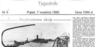 Przyfrontowa akcja / Maria Krzyszkowska-Piwowarska (była świetliczanka z Westerplatte) // Gazeta Gdyńska. - 1990, nr 3, s. [1]. - Il.