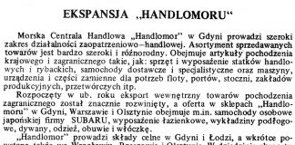 "Ekspansja ""Handlomoru"" / (as) // Gazeta Gdyńska. - 1990, nr 3, s. 7"