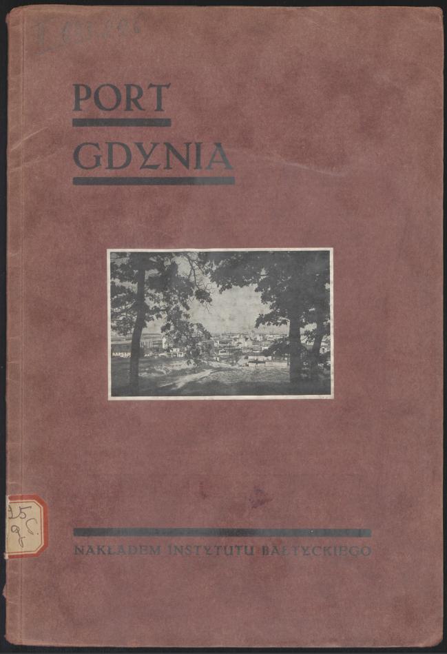 Port w Gdyni książka