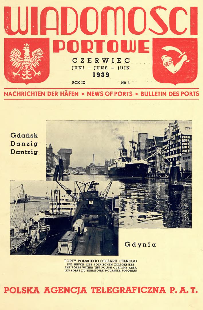 Wiadomości Portowe. - 1939, nr 6
