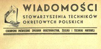 Wiadomości Stowarzyszenia Techników Okrętowych Polskich: czasopismo poświęcone sprawom okrętownictwa, żeglugi i techniki portowej. - Gdynia, 1937, nr 4