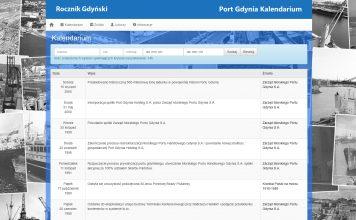Port Gdynia Kalendarium