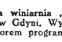 """Wytworna winiarnia """"Alhambra"""" // Gazeta Gdańska. - 1934, nr 144, s. 6"""