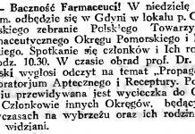 Baczność farmaceuci! // Gazeta Gdańska. - 1934, nr 161, s. 6