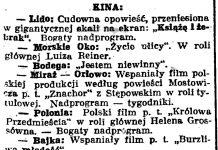 Kina // Gazeta Gdańska. - 1938, nr 24, s. 11