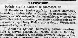 Zapowiedź // Gazeta Gdańska. - 1938, nr 24, s. 11