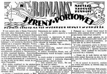 Romans syreny portowej / Dzień Dobry 1938