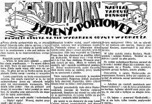 Romans syreny portowej // Dzien DObry 1938, nr 155-stycznia-1938-tekst