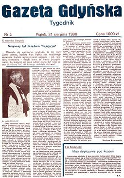 gazeta gdyńska 1990, nr 2