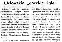 Orłowskie gorzkie żale / EO // Gazeta Gdyńska. - 1990, nr 12, s. 2