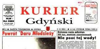 Kurier Gdyński. - 1992, nr 2